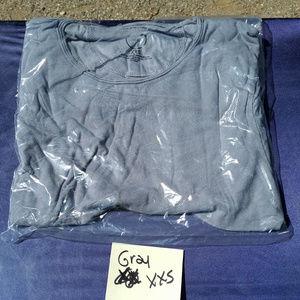 Wolf vs Goat WvG T-Shirt XXS Gray Bamboo Sorona